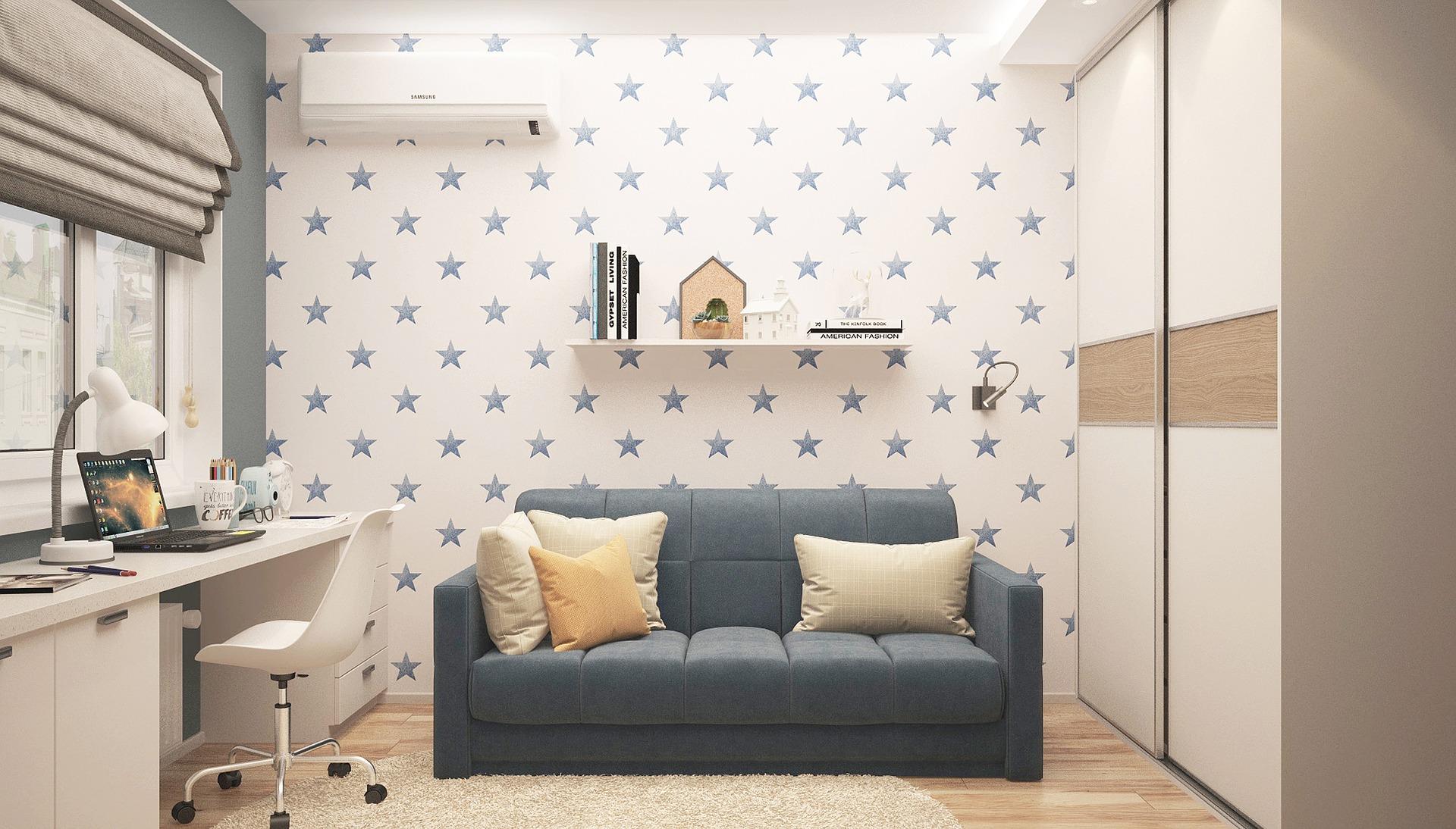 O czym pamiętać tapetując sypialnię?