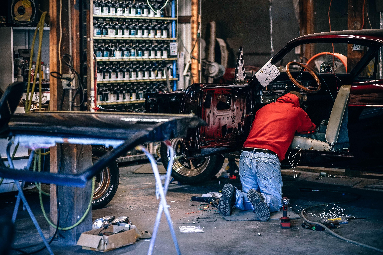 Changing car workshops